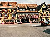 Hotel-Restaurant Bed and Breakfast between Colmar and Strasbourg