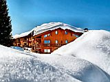 Ski apartments at Les Arcs between Geneva and Lyon, in the Savoie alps